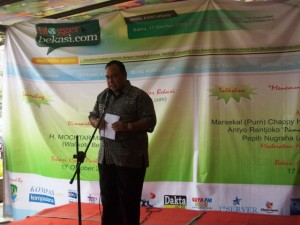 Di resmikan oleh Bpk. H.Mochtar Muhammad (Walikota Bekasi)